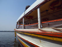Rio do barco Fotografia de Stock