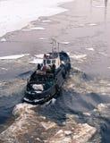 Parte traseira do navio Fotografia de Stock