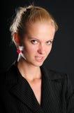 O negócio é uma mulher Fotos de Stock