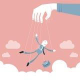 O negócio controla & controla ilustração do vetor