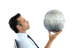 O negócio global é sobre a visão Fotografia de Stock Royalty Free