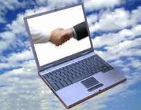 O negócio global!! Fotos de Stock