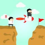 O negócio será mais rápido que será sucesso Imagem de Stock