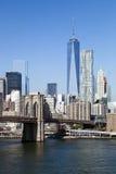 O New York City w do centro a torre 2014 da liberdade Foto de Stock Royalty Free