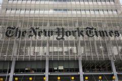 O New York Times Imagens de Stock