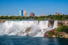 O Niagara Falls conhecido em Canadá, Ontário imagem de stock royalty free
