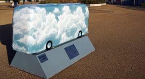 O ônibus da próxima geração Imagens de Stock Royalty Free