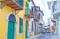 O Nicosia velho Fotos de Stock