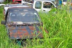 Ośniedziali Zaniechani samochody Fotografia Royalty Free