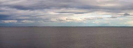 Żołnierz piechoty morskiej panoramiczny Obraz Royalty Free