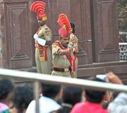 Żołnierza Hinduskiego wmarsz Zdjęcie Royalty Free