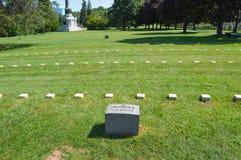 Żołnierza krajowy cmentarz Gettysburg Obrazy Royalty Free
