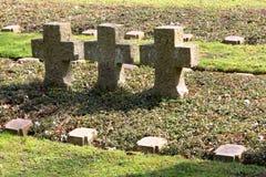 Żołnierze Cmentarniani Obrazy Royalty Free