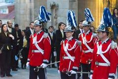 Żołnierze w wielkanocy w Hiszpania Obraz Royalty Free