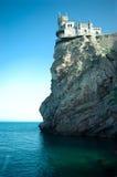 O ninho da andorinha do castelo Fotografia de Stock