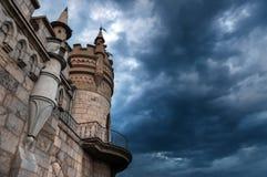 O ninho da andorinha do castelo em Yalta grande 1 Foto de Stock