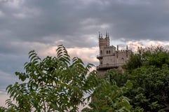 O ninho da andorinha do castelo em Yalta grande 6 Imagem de Stock