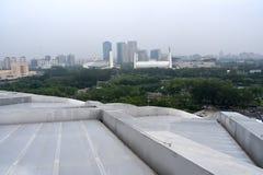 O ninho do pássaro, estádio nacional, Pequim, China imagem de stock royalty free
