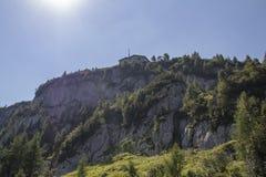 O ninho no Kehlstein, Obersalzberg em Alemanha, 2015 de Eagle Imagem de Stock Royalty Free
