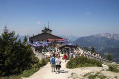 O ninho no Kehlstein, Obersalzberg em Alemanha, 2015 de Eagle Fotos de Stock Royalty Free