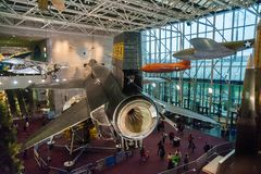 O X-15 no ar nacional e no museu de espaço foto de stock royalty free