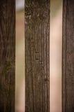 O nome William Carved na madeira fotografia de stock