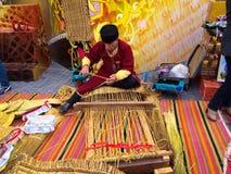 O Nowruz justo festivo a Baku, Azerbaijão imagem de stock royalty free