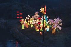 O 30o festival de lanterna de Qinhuai no rio de Qinhuai Fotografia de Stock Royalty Free