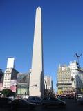 O obelisco de Buenos Aires. Imagens de Stock Royalty Free