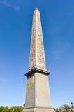 O obelisco de Luxor em Paris Fotografia de Stock
