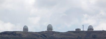 O obervatório astronômico de Llano del Hato Nacional Fotografia de Stock Royalty Free
