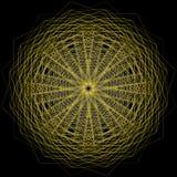 O objeto cósmico é um fractal geométrico Imagem de Stock Royalty Free