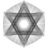 O objeto cósmico é um fractal geométrico Fotografia de Stock Royalty Free