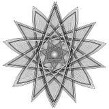 O objeto cósmico é um fractal geométrico Fotografia de Stock
