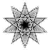 O objeto cósmico é um fractal geométrico Imagens de Stock Royalty Free