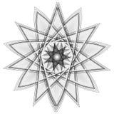 O objeto cósmico é um fractal geométrico Imagens de Stock