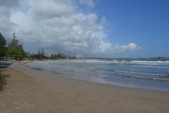 O Oceano Índico fotografia de stock royalty free