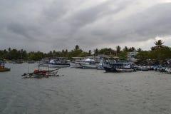 O Oceano Índico imagens de stock