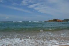 O Oceano Índico foto de stock royalty free