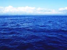 O Oceano Atlântico perto do Sao Miguel, Açores Fotografia de Stock