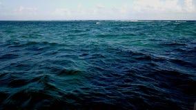 O oceano de Cancun Fotografia de Stock