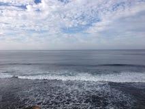 O oceano encontra o mar foto de stock royalty free