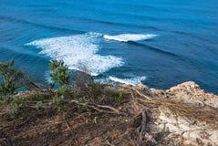 O oceano poderoso Imagem de Stock