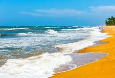 O oceano, Sri Lanka imagem de stock