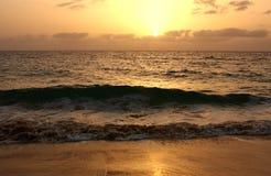 O oceano Sunset fotos de stock royalty free