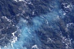 O oceano tece Fotos de Stock