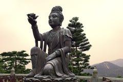 O oferecimento dos seis Devas, Po Lin Monastery, Hong Kong Foto de Stock Royalty Free