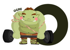 O For Ogre Stock Images
