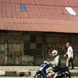 O Oldtown de Bogor, Java Indonesia ocidental foto de stock