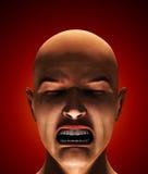 O olhar do medo ilustração royalty free